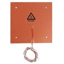 3D Printer Accessories Ender-3 235 x 235Mm 24V 200W Hot Bed Platform Silicone Mat Temperature