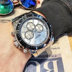 MEGIR Luxury Brand Business Quartz Men Wristwatch Full Steel Chronograph Waterproof Military Watch Clock Male Relogio Masculino
