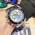 MEGIR люксовый бренд бизнес Кварцевые Мужские наручные часы полный стальной хронограф водонепроницаемые военные часы мужские часы Relogio Masculino