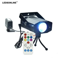 2017 Hot Sale New Multi Color LED Bulb Music Laser Stage Lights Lighting Support IR Remote