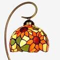 Candeeiro de mesa para o quarto de vidro colorido vidro da lâmpada de mesa do vintage novelty presentes lâmpada de iluminação decorativa