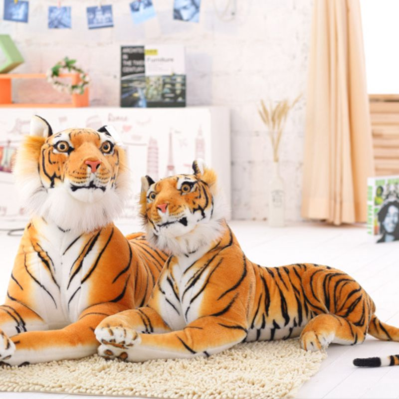 High Quality Plush Tiger Toys Lovely Stuffed Animals Pillows For Boy Children Kids Boy Birthday Christmas Gift Free Shipping free shipping emulate tiger plush animal stuffed toy gift for friend kids children kids boys birthday party gifts zoo king