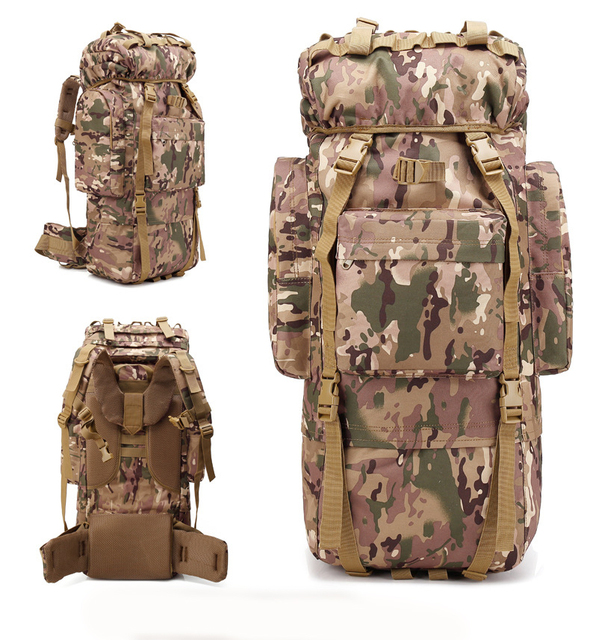 532629ab64fb8 Angebot Wasserdicht Bergsteigen Klettern Rucksack Regen Abdeckung Tasche  Nylon Militärische Taktische Outdoor Reisetasche Armee