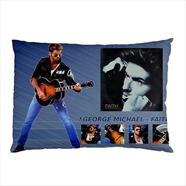 Sexy George Michael Faith Pillow Case Cover George Michael Custom Michaels Decorative Pillows