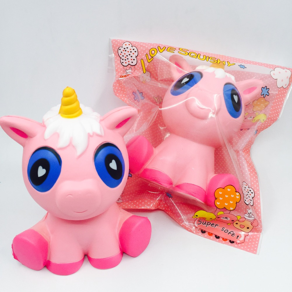 Squishies wholesale 10pcs rare squishy Jumbo pink unicorn