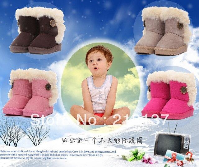 Aliexpress.com : Buy Free shipping Cute Toddler girls Snow boots ...