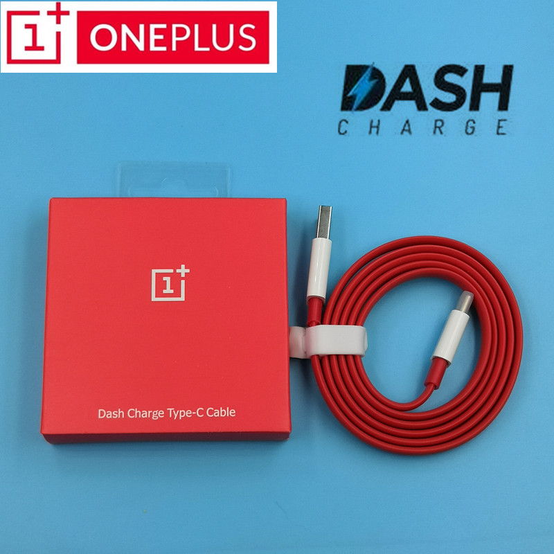 Original Oneplus 6 dash Charger Cable 4A USB 3 1 Noodle Cord oneplus 6t 5t 5 3t 3 Fast quick Charge Sync Data line With Package in Mobile Phone Chargers from Cellphones Telecommunications