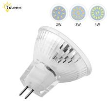 4Pcs Led Spotlight Bulb MR11 Lamp AC / DC 24V 2W 3W 4W 5733 SMD Energy Saving Bombillas Lampada Replace Halogen Bulbs
