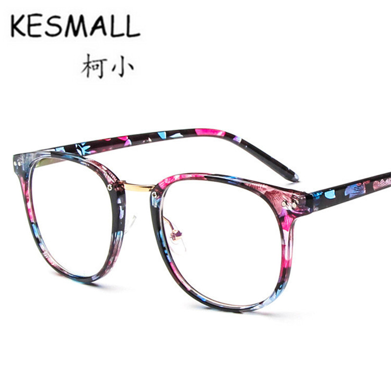Aliexpress.com : Buy KESMALL Vintage Transparent Lens Eyewear Women ...