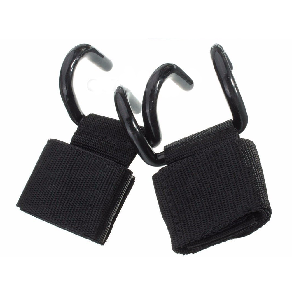 New Sale Weight Lifting Training Gym Hooks Bar Grips Grippers Straps font b Gloves b font