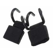 New Sale Weight Lifting Training Gym Hooks Bar Grips Grippers Straps Gloves Wrist Support