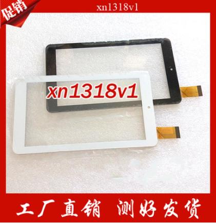 Novo original de 7 polegada tablet tela de toque capacitivo XN1318V1 preto/branco frete grátis