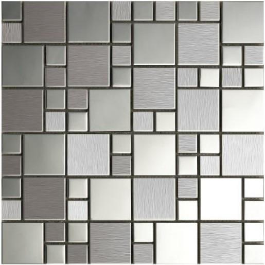 Env o gratis metal mosaico de acero inoxidable ba o cocina Mosaico para bano precios