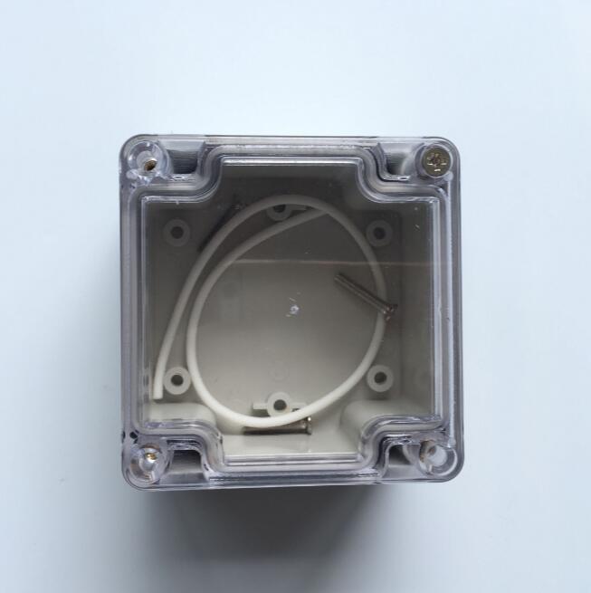 83*81*56 мм Серый abs пластик ip65 дождевик коробка ПВХ распределительная коробка электронный проект корпус инструмента