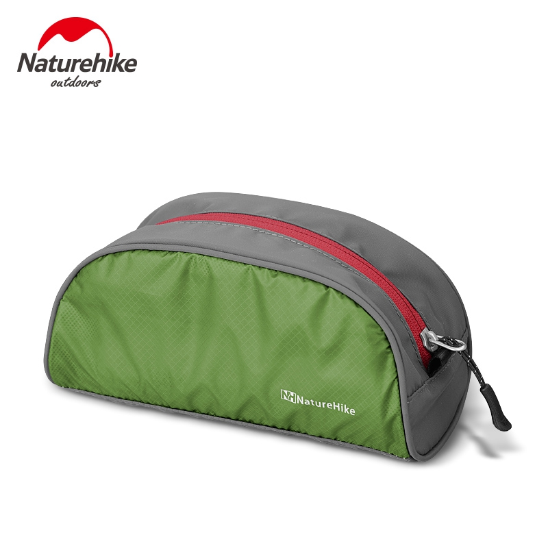 Naturehike Ultralight Makeup Waterproof Toiletry Cosmetic Storage Wash Bag Purse Laundry Organizer Hiking Kit Berkhemah Camping