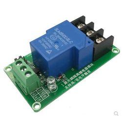 Один 1-канальный релейный модуль 30 А с изоляцией оптрона 5 в 12 В поддерживает триггер высоких и низких частот
