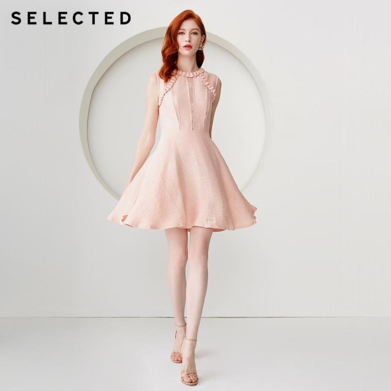 AUSGEWÄHLT Französisch Stil Ärmelloses Kleid S  41912J505-in Kleider aus Damenbekleidung bei  Gruppe 1