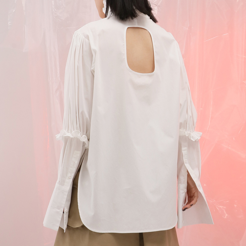 Bluse Backless Bluse Frau R Twotwinstyle Twotwinstyle Backless TJFlK31c