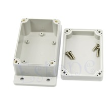Waterproof Plastic Electronic Project Junction Box Case  Enclosure 3.94″ x 2.68″ x 1.97″  White Color ABS material Junction Box