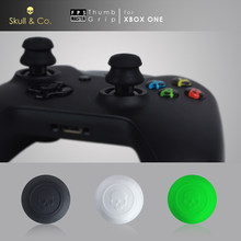 Tengkorak & CO. Thumb Grip Joystick Cap FPS Master Thumbstick Cover untuk Xbox One Controller(China)