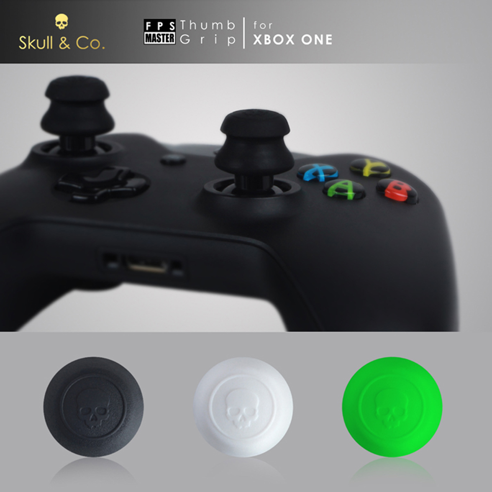 Skull & Co. Thumb Grip Joystick Cap FPS Master Thumbstick Cover for Xbox One Controller