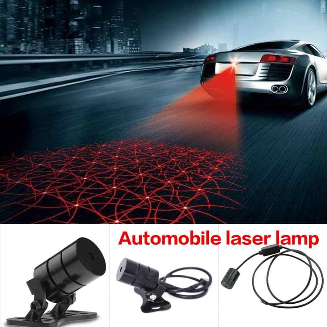 Sailnovo 24V Laser Warning Light Tail Light Cool Car Rear Driving Anti-Collision Fog Laser Caution Anti Collision Laser Light