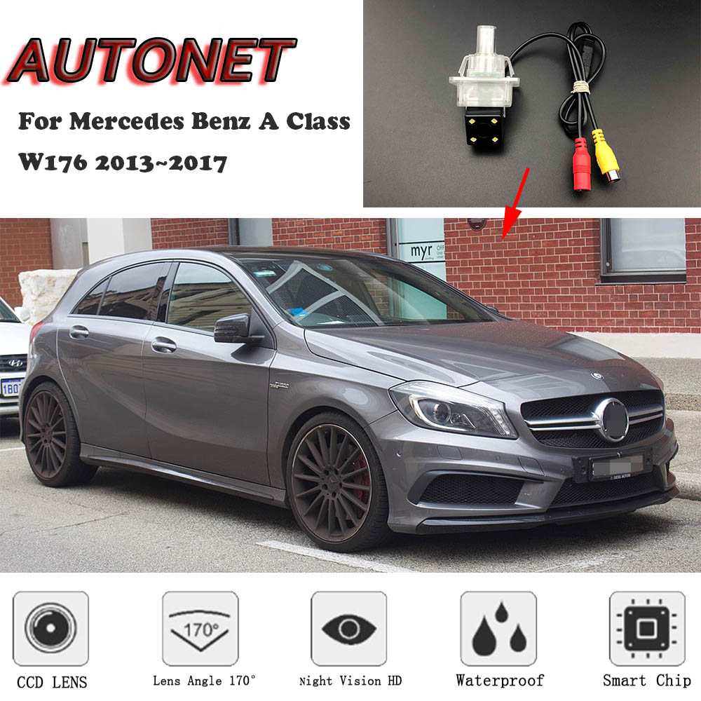 AUTONET Backup Rear View Camera For Mercedes Benz A Class W176 2013 2014 2015 2016 2017 Night Vision/license Plate Camera