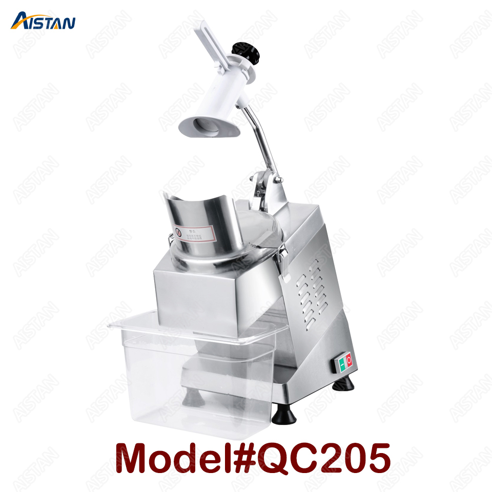 QC205 electric multi-purpose vegetable fruit cheese cutter dicing, cubing, slicing, stripped, grater slicer or shredded machine 1