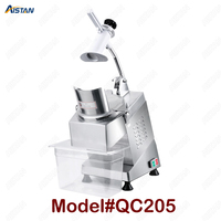QC205 electric multi purpose vegetable fruit cheese cutter dicing, cubing, slicing, stripped, grater slicer or shredded machine