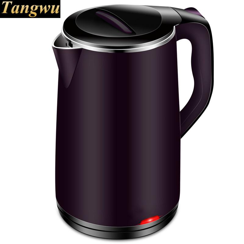Electric kettle 304 stainless steel household automatic power failure to make tea цена
