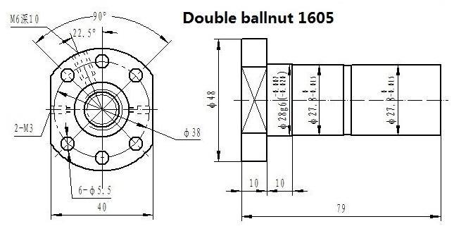 Double 1605