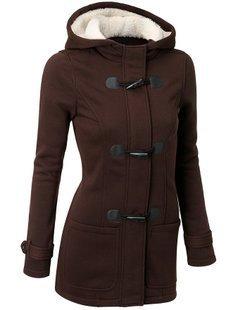 Winter Jacket Women Hooded Winter Coat Fashion Autumn Women Parka Horn Button Coats Abrigos Y Chaquetas Mujer Invierno 2