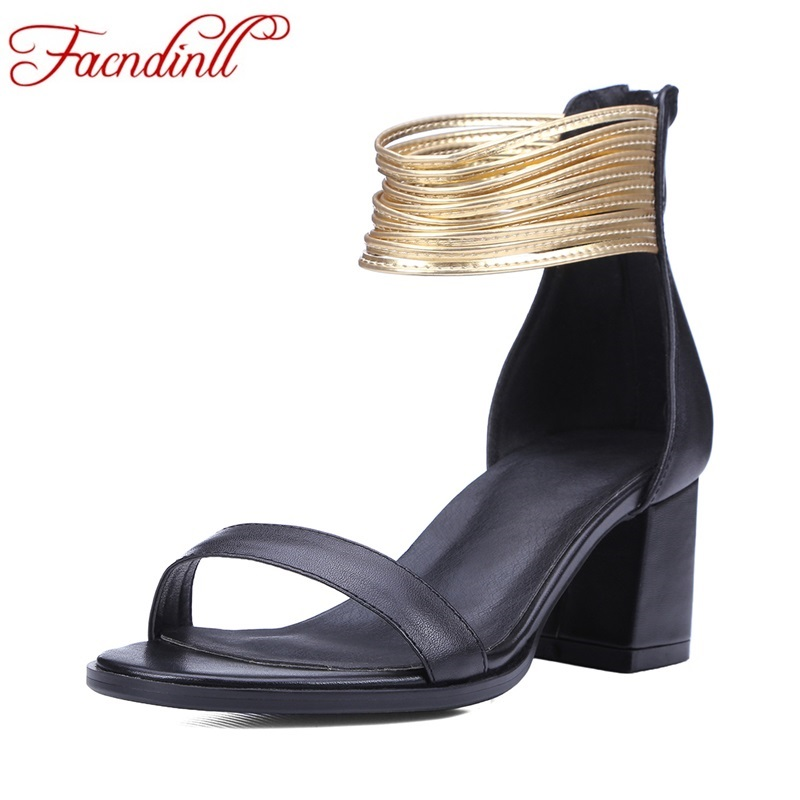 ФОТО plus size women party dress shoes fashion ankle strap rome summer shoes woman sexy high heels gladiator sandals women sandalias