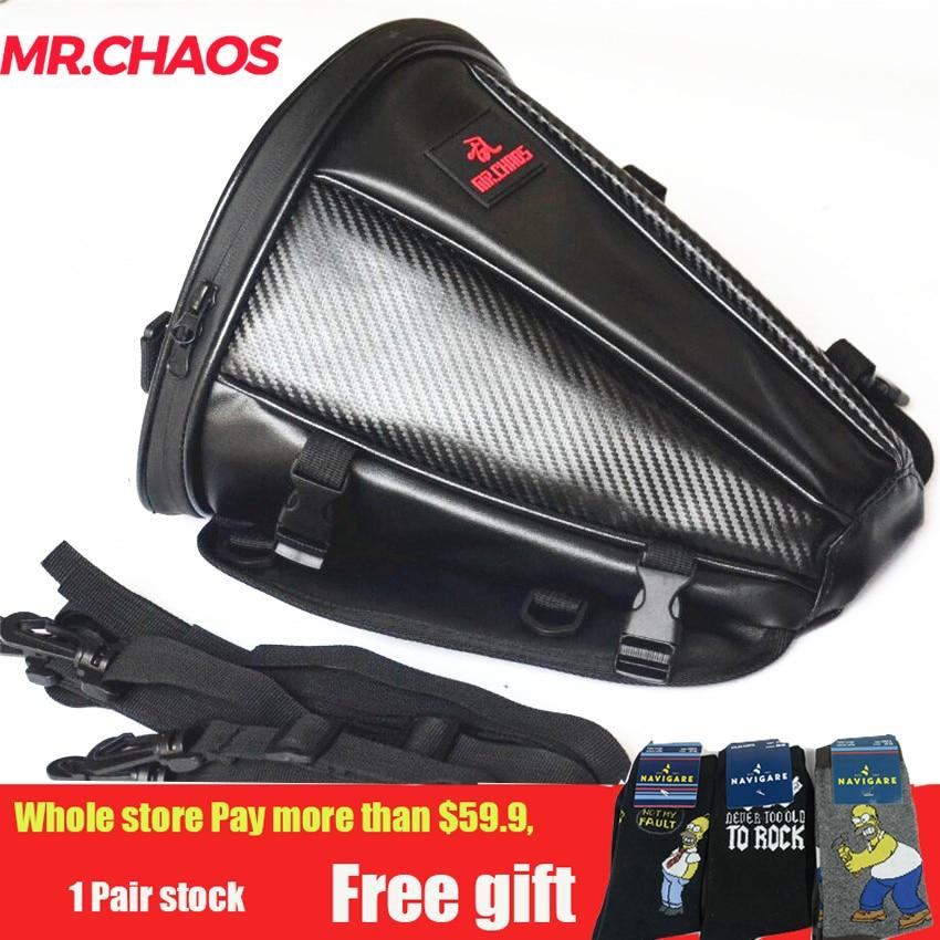 New Motorcycle Saddlebag Tail Bag Rear Back Seat Sports Carry Bag 100% Waterproof Motorbike Bike Luggage Saddle Bag Black OEM for deutz 1012 fuel shutdown solenoid valve 0419 9900 04199900 12v