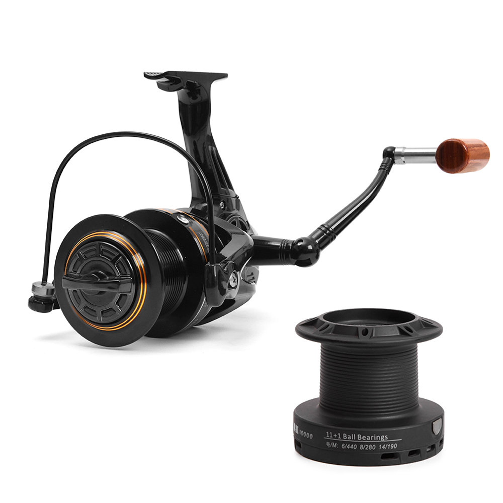 11+1 BB Fishing Reels 4.1:1 Left/Right Hand Spinning Reel Aluminum alloy Sea Coils with Free Spool For Telescopic Fishing Rod11+1 BB Fishing Reels 4.1:1 Left/Right Hand Spinning Reel Aluminum alloy Sea Coils with Free Spool For Telescopic Fishing Rod