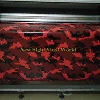 Тигр красный камуфляж для автомобиля виниловая пленка пузыря бесплатно для стайлинга автомобилей