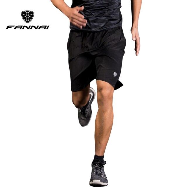 Fannai мужские спортивные шорты для бега тренировочные футбольные теннисные тренировки для спортзала быстросохнущие дышащие уличные шорты для бега с карманом на молнии