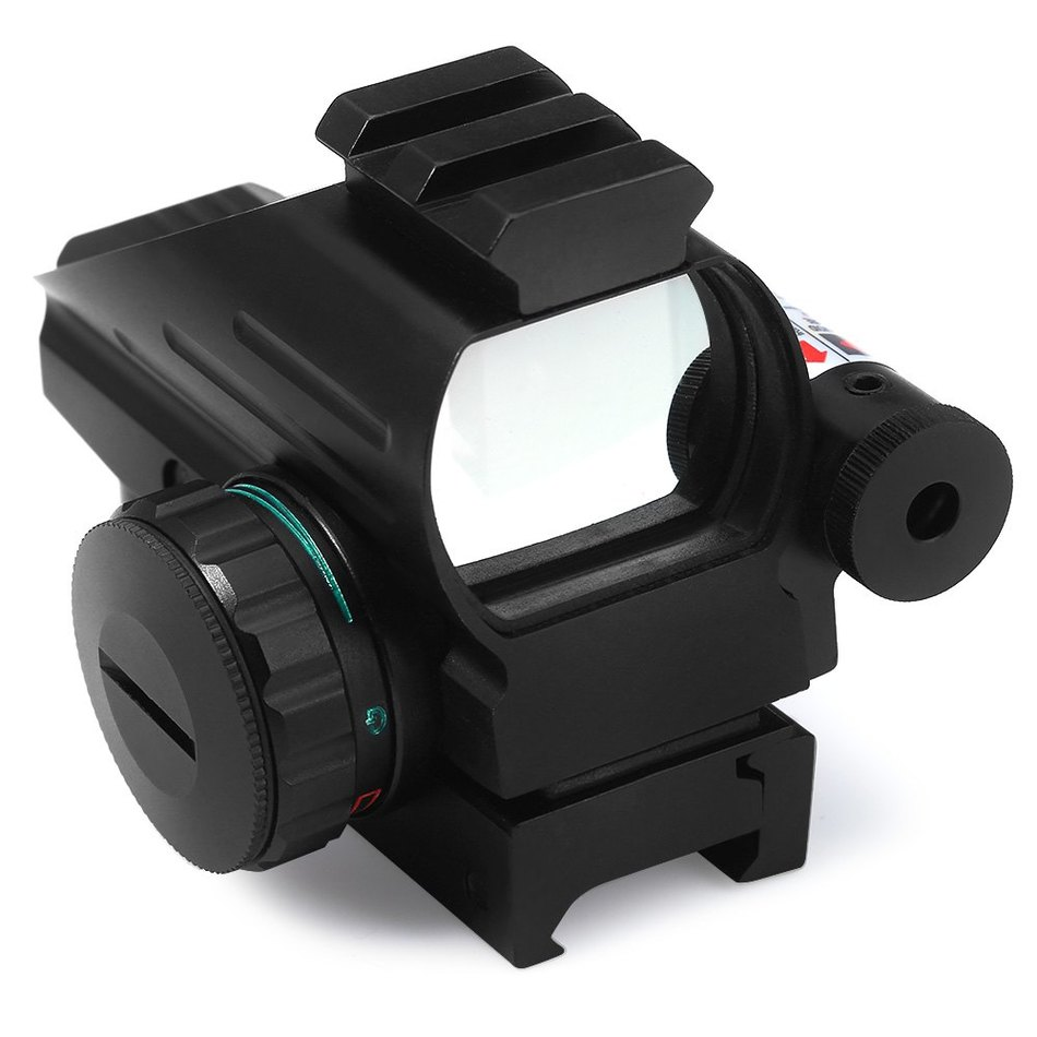 ФОТО 4 Various Reticle  Hunting Tactical Holographic Reflex Red Green Dot Sight Scope