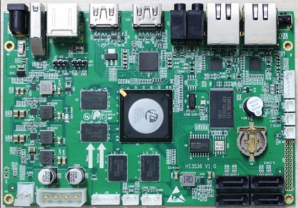 HI3536 Development Board H.265/H.264 Decoding HDMI2.0 4K Output A17 Quad Core