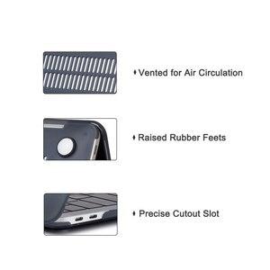 Image 5 - Funda de mármol mate y cubierta de teclado para nuevo Macbook Air 13 pulgadas, 2018 de liberación A1932 con pantalla Retina y ID táctil