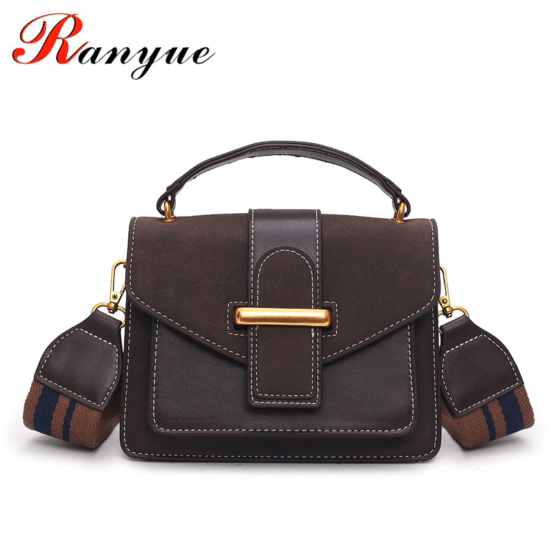 RANYUE NEW Flap Bags Handbags Women Famous Brands High Quality Shoulder Bag Fashion Crossbody Bag Women Messenger Bags Sac vintage women bag high quality crossbody bags luxury designer large messenger bags famous brands female shoulder bag tassen flap
