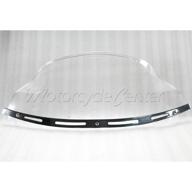 8/'/' Wave Windshield Windscreen For Harley Electra Glide Ultra Classic FLHTCU