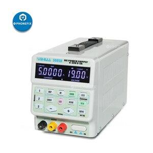 PHONEFIX YIHUA 3005D 220В 110В Регулируемый цифровой дисплей DC источник питания для сотового телефона материнская плата, пайка для ремонта