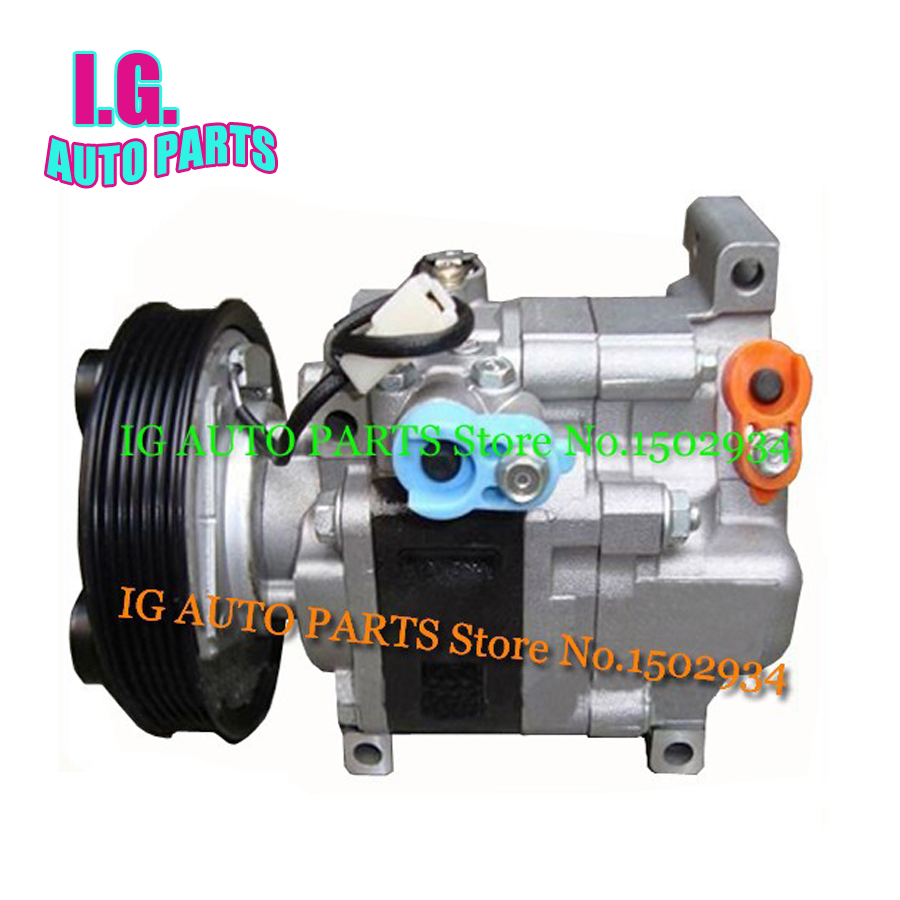 New AC Compressor for Car MAZDA 3 1.6L 2003-2009 H12A1AG4DY BP4K61K00