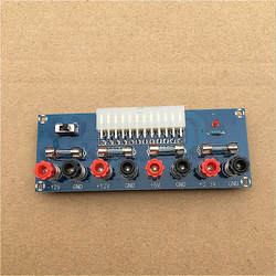 XH-M229 настольный блок питания ATX power transfer board, выньте модуль электрической розетки, выходной терминал