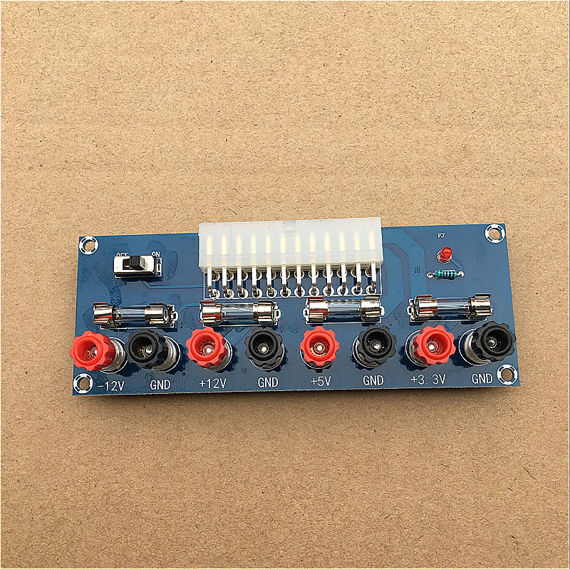 XH-M229 Desktop Power Supply Box ATX Power Transfer Board, Take Out The Electrical Outlet Module, Power Output Terminal.