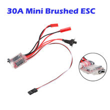 30A Brushed ESC Winch Switch Controller for 1/10 Scale RC Crawler Car ESC Winch Switch Controller Model Vehicle Accessory(China)