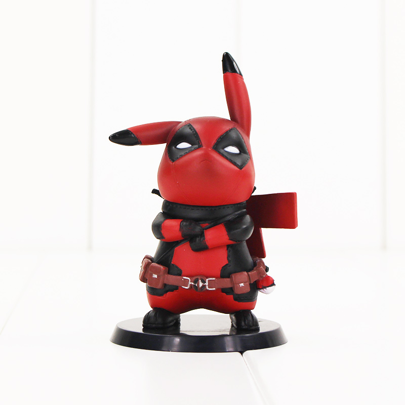 10cm Bulbasaur cosplay Deadpool Anime Action Figure Model Toy PVC Model collectible cute superhero model toy fire toy marvel deadpool pvc action figure collectible model toy 10 27cm mvfg363