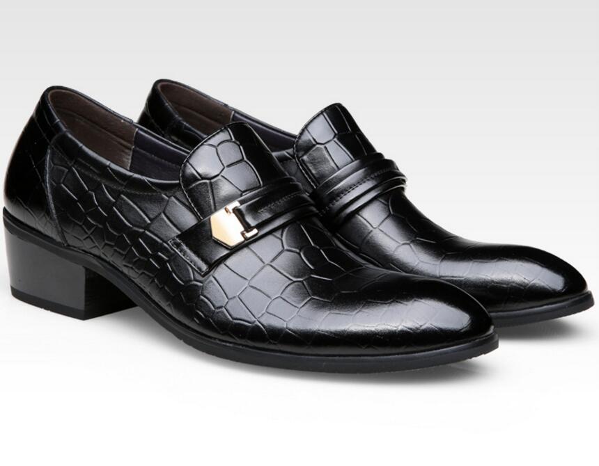 Masculinos Hombre Apontou Oxfords Masculina Jozigbema Moda Homens Calçados Britânico Sapatos Da Toe Zapatos Sapato Estilo marrom Casamento Preto Novos Formal Z1wqTYF