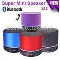 Altavoces портативный bluetooth S11 Мини спикер спикер bluetooth Беспроводной Bluetooth HI-FI спикер Сильный бас поддержка TF Card 6